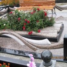 Цоколя, ограды, цветники из гранита_44