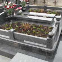 Цоколя, ограды, цветники из гранита_6