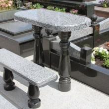 Гранитные столы и лавки_13