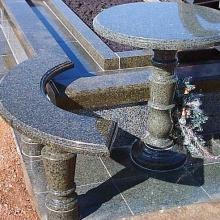 Гранитные столы и лавки_2