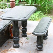 Гранитные столы и лавки_5
