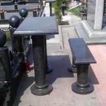 Столы, лавки из гранита