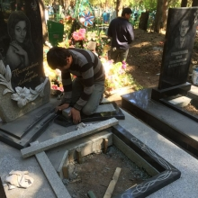 Демонтаж и монтаж памятников