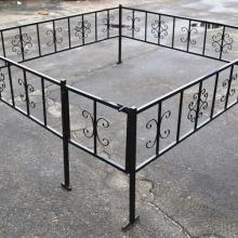 Металлические конструкции (ограды, столы, лавки)