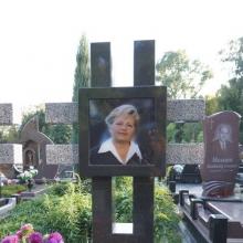 Фото портрет в стекле на памятник