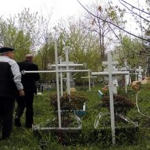 Выезд мастера на замеры на кладбище